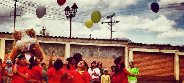 Volunteer in Cusco Peru