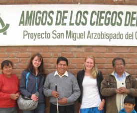 Teachin english in Peru - Victoria Benz