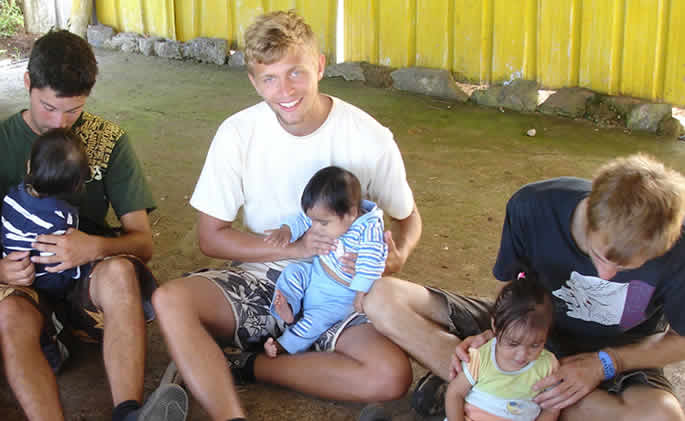 Volunteer work in Ecuador