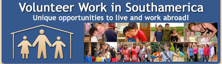 Volunteer Work in Southamerica