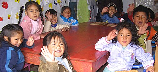 EDUCATION PROJECT PC-SE98 IN PERU
